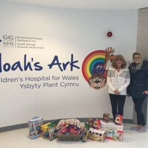 National Express donate Easter Eggs to the Noah's Ark Charity
