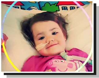 Fliss – who found her smile again thanks to the play specialists we support