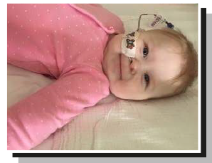 Rea – who spent the first seven months of her life on the neonatal intensive care unit