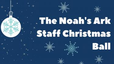 The Noah's Ark Staff Christmas Ball