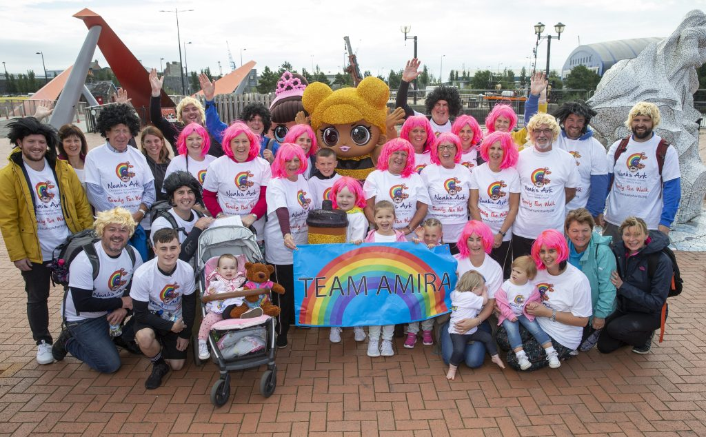 16/09/2018 Pics (C) HUW JOHN, CARDIFF MANDATORY BYLINE - HUW JOHN, Cardiff  Noah's Ark Childrens Hospital Charity - family Fun Walk, Cardiff Bay  mail@huwjohn.com www.huwjohn.com M: 07860 256991 Instagram: huwjohn_uk Twitter: huwjohnpics