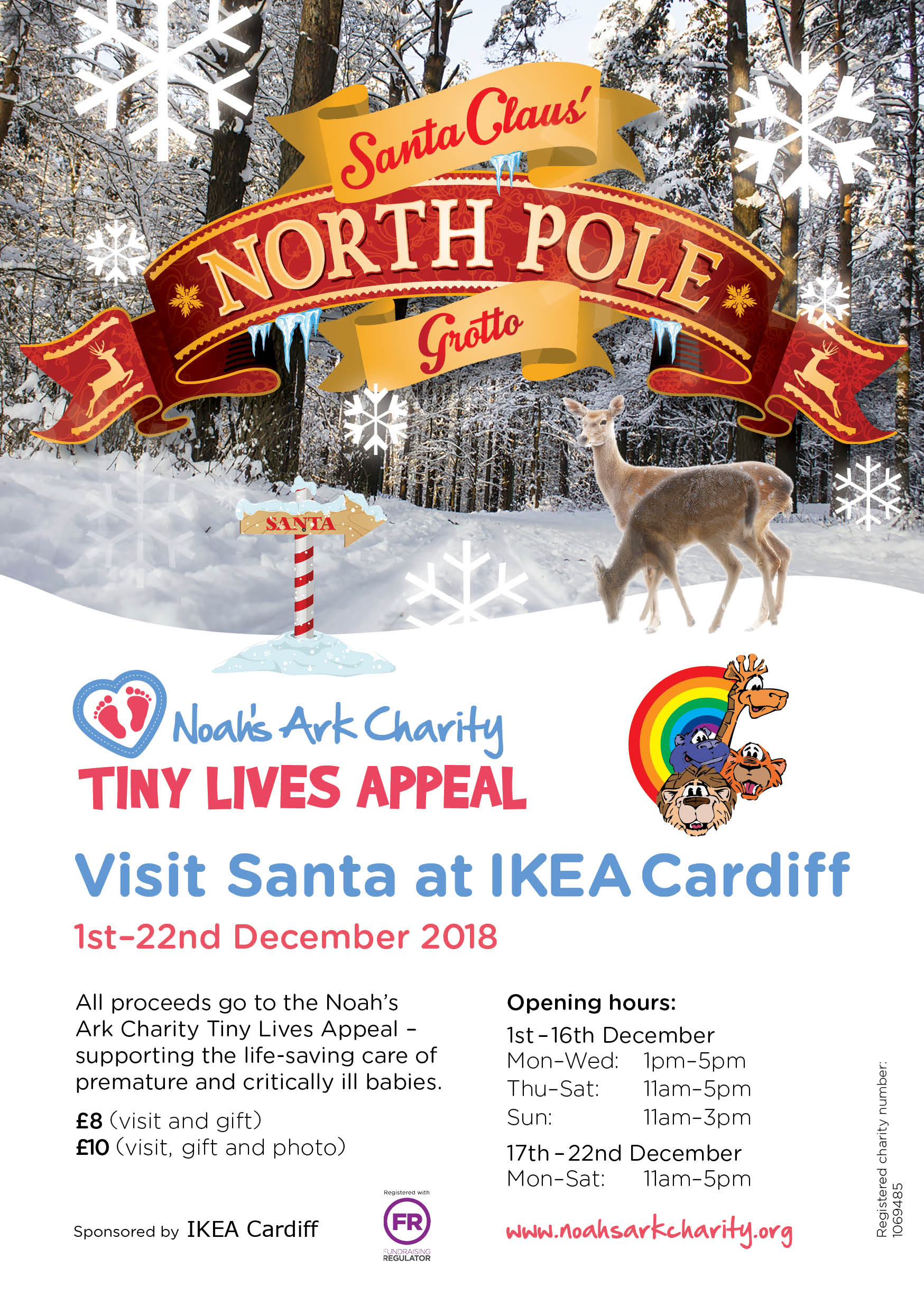 Visit our Santa\'s grotto at IKEA Cardiff! - Noahs Ark