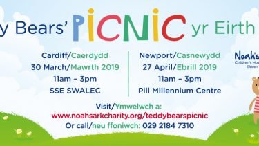 Teddy Bears' Picnic in Cardiff and Newport