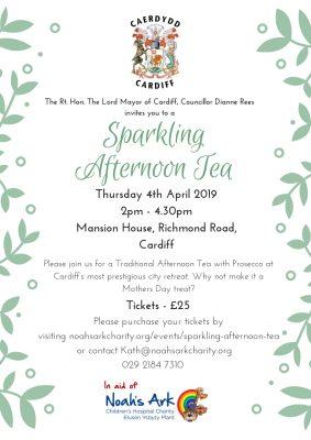 The Lord Mayor's Sparkling Afternoon Tea - Noahs Ark
