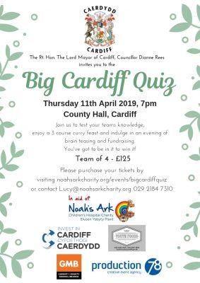 The Lord Mayor's Big Cardiff Quiz - Noahs Ark