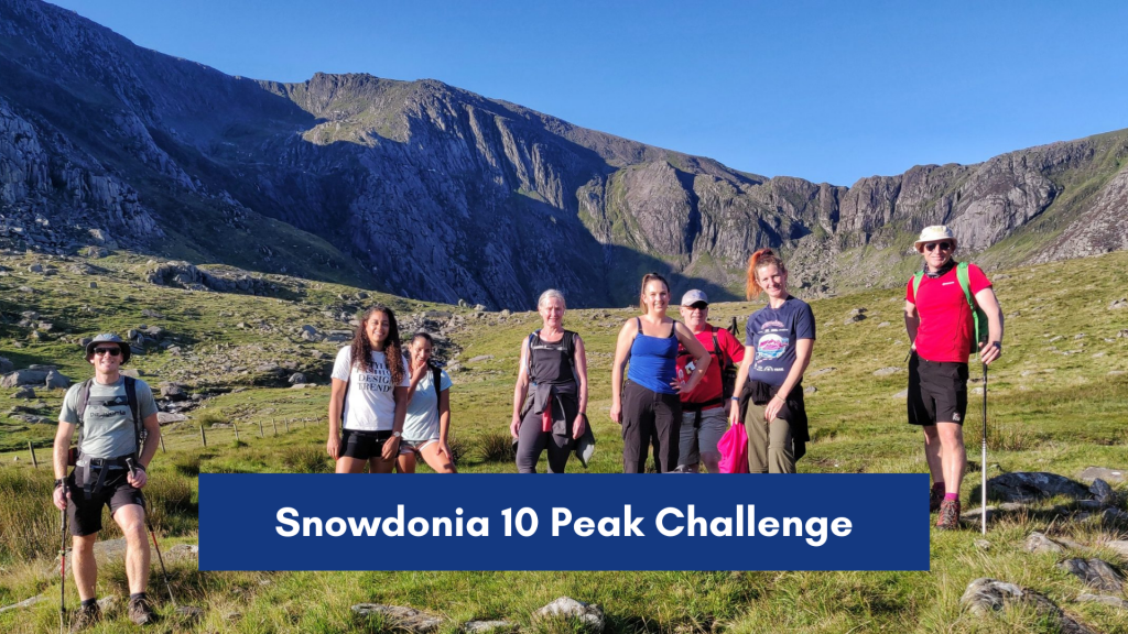 Snowdonia 10 Peaks Challenge - Dave Talbot and Noah's Ark Charity